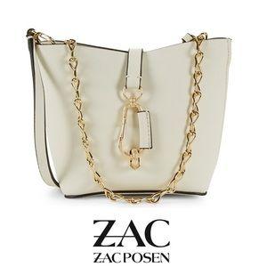 ZAC Zac Posen Belay Mini Chain Hobo EUC